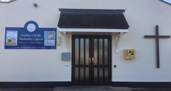 New Defibrillator in Carlton Colville